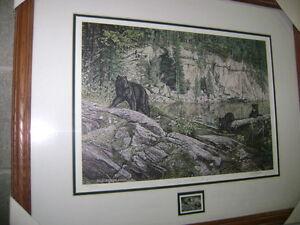 LIVING ON THE EDGE - N. American Wildlife Stamp Series -$45