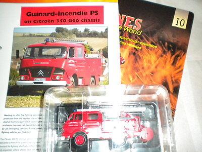 Del Prado World Fire Engines - France 1960 Hotchkiss Premier Secours Issue 10