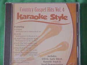 Country Gospel #4 ~ Christian Daywind Karaoke Style ~~ Long Black Train ~~ CD+G