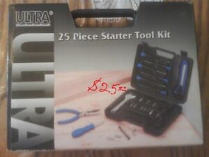 25 pieces tool set $ 25,00