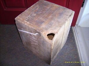 Vintage Moxie Nerve Food Crate Soda Pop New England Boston Kingston Kingston Area image 5
