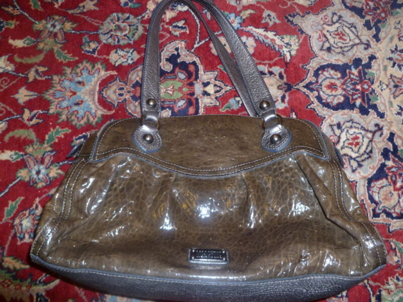 Authentic Moschino Handbag Made in Italy in Good Condition Brown Evening Bag