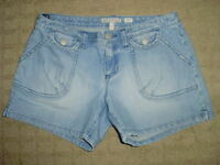Girls/Teen Old Navy Faded Denim Shorts, size 14