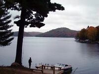 New Pristine Baptiste Lake Cottage Rentals