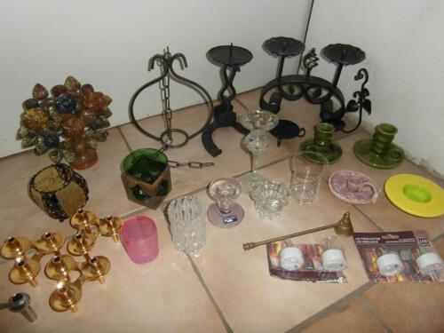 kerzenst nder schmiedeeisen glas keramik in bayern landshut ebay kleinanzeigen. Black Bedroom Furniture Sets. Home Design Ideas