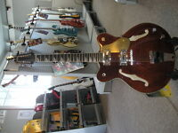 Eastwood semi-hollow 12 string electric guitar at Dockside Music