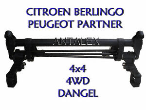 train arri re essieu peugeot partner citroen berlingo 4wd 4x4 dangel. Black Bedroom Furniture Sets. Home Design Ideas