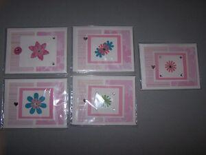 Handmade Cards - blank inside