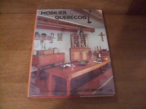 LIVRES SUR LES ANTIQUITÉS ET LES MEUBLES ANCIENS DU QUÉBEC City of Montréal Greater Montréal image 1