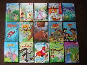DISNEY BOOKS FOR CHILDREN (4) - FRENCH BOOKS