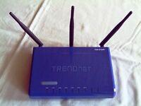 Wireless - N  Breitband - Router TRENDnet TEW 631BRP  300 MBit/s Sachsen-Anhalt - Halle Vorschau