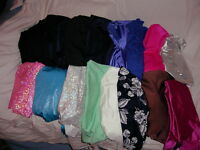 BAG 2 – 5 pieces of Lycra fabric (all about 1/2 yard  each)