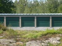 Modern Self Storage Units