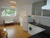 first floor 2 bed flat with new kitchen - INCLUDING HEATING