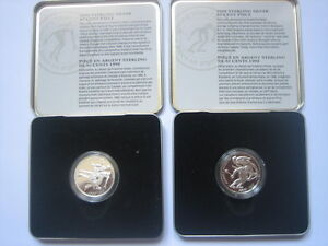 1998 Sterling Silver Proof 50 cent coin