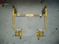 Walker lawnmower mower deck frames