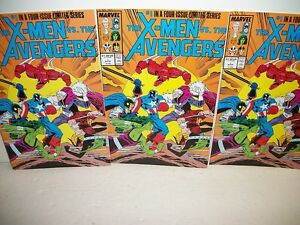 Three-1987-The-X-Men-vs-The-Avengers-Issue-1-Comics