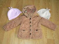 2 BABY GAP Jacket coat Early Spring FallFILLE 3 ans