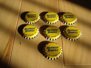 Formosa Springs Water Bottling Caps- Never Used - Lot of 60 Kitchener / Waterloo Kitchener Area image 1