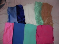 Bag 4 – 9 pieces of lycra fabric – about 3/4 length each