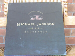 Michael Jackson, Dangerous CD ,Limited  Collector Ed by Sony