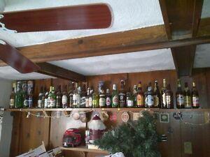 collection de bouteilles de bière