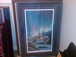 WOLF PRINTS - DUCKS UNLIMITED Regina Regina Area image 1