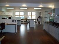 STUNNING 2000 square foot DUPLEX LIVE WORK UNIT in the sought after BRITTANNIA BUILDING N1 7RP