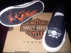 Harley Davidson shoes Youth size 10 Kitchener / Waterloo Kitchener Area image 2