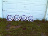 S.S. spoke wheel covers