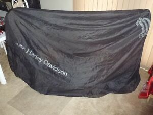 Original AMF #1 Harley Davidson bike cover - Rare collector item