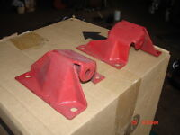 1958-64 Chevy/Pontiac V8 engine mount frame brackets