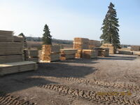 Cedar, Tamarack and Hemlock Lumber for Sale