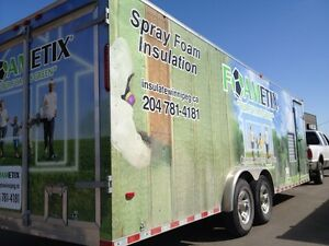 SPRAY FOAM INSULATION, THE PRAIRIES BEST QUALITY AND VALUE!