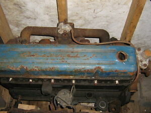 Chevy truck 6 cyl engines , 235 cid whole or parts. 1955 57&62
