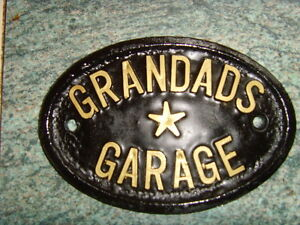 GRANDADS-GARAGE-NEW-SIGN-WORKSHOP-HOUSE-DOOR-PLAQUE