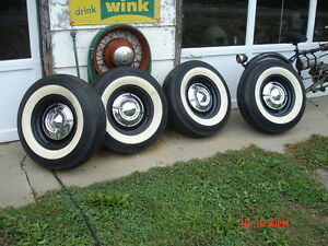 Really good bias ply whitewall tires London Ontario image 4