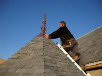 NEW SLATE AND TILE ROOFS CARPENTRY . FIRST FIX CUT ROOFS DORMERS FLAT ROOFS AND ROOF REPAIRS