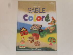 livre de loisir cr atif avec du sable color 62 pages ebay. Black Bedroom Furniture Sets. Home Design Ideas