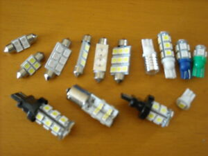LED SUPER BRIGHT RV / TRAILER REPLACEMENT BULBS ALL COLOURS