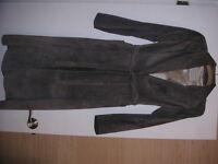 Leather/Suede Coat