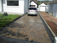 TWO CAR DRIVEWAY £1650 MONOBLOCKED 30M2. ALL WORK GUARANTEED