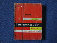 Chevrolet Master Parts Catalogue 1942-1956.