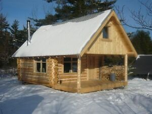 Cabin in the woods - cross country ski trails
