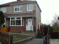 **3 BED SEMI-Detached House - BD7 Southmere Terrace - **DHSS Welcome**