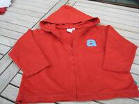 Sweatshirt Jacke, Marke Beebies, Größe 86, Farbe rot Nordrhein-Westfalen - Grevenbroich Vorschau
