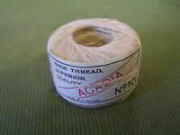 1946 HEMP SHOE THREAD BALLS $1 PER ROLL SUPERB QUALITY !