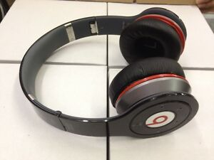 Used-Original-MONSTER-BEATS-WIRELESS-by-Dr-Dre-BLACK-bluetooth-Headphones-iphone