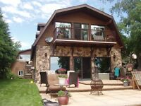 Lakefront Emma Lake House booking for Summer 2015