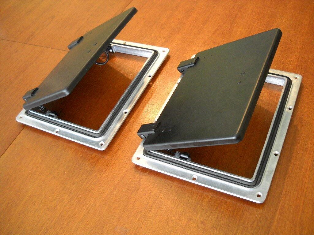 2 x LARGE POP-UP ROOF AIR VENTS -Premium Grade- Trailer,Canopy,Camper,Horsefloat